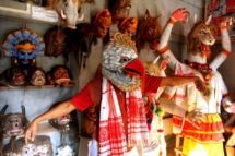 Nipjyoti Bora- The traditional Mask culture of Assam (Majuli)